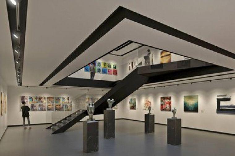 Projecte de com quedarà l'Espai Expositiu Antiga Estació