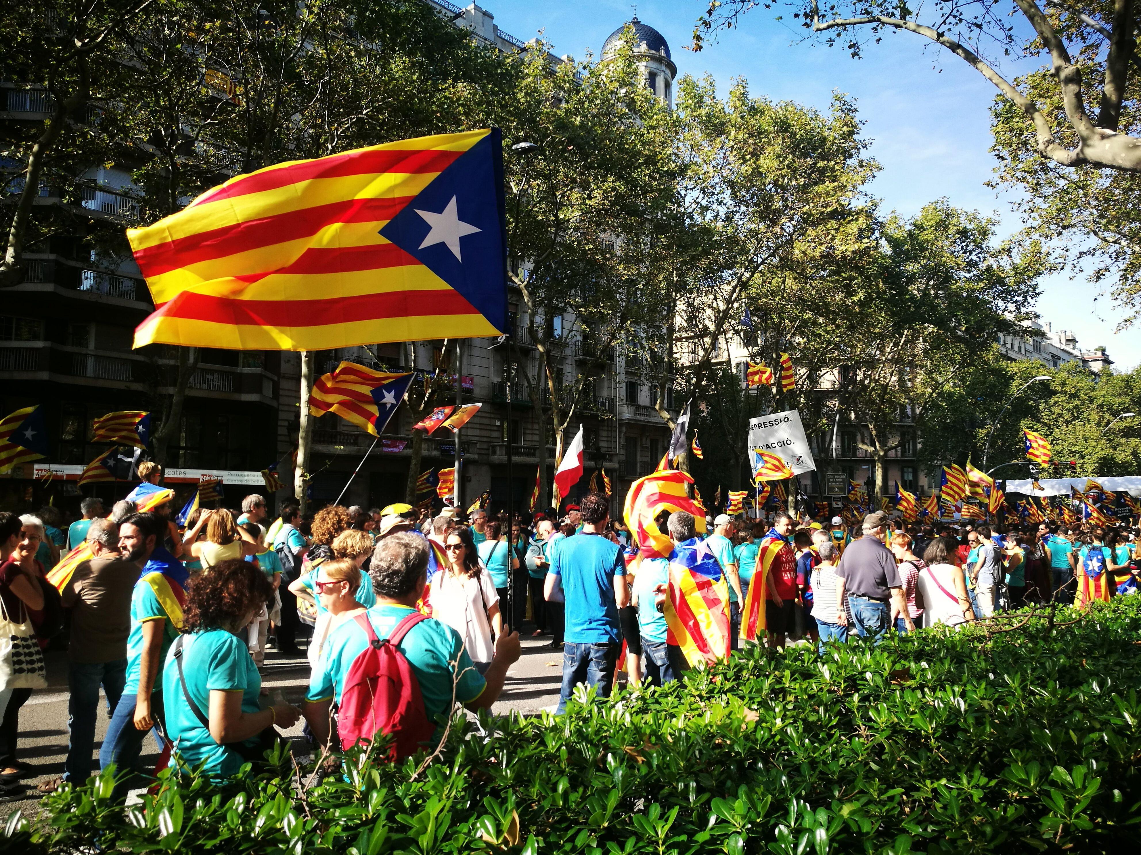 Manifestació a Barcelona