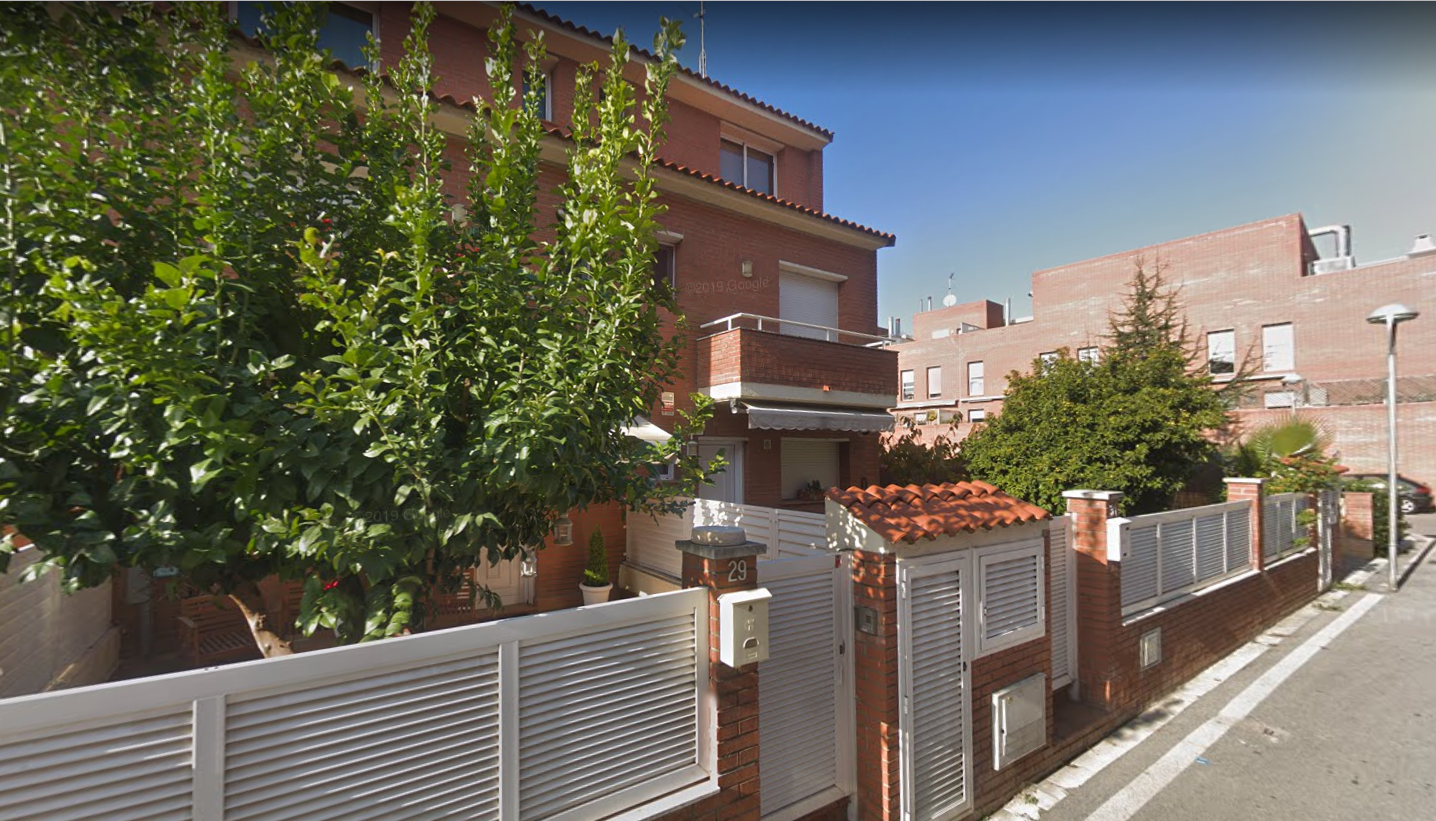 Cases del carrer de la Via Làctia, a Can Sant Joan, Rubí