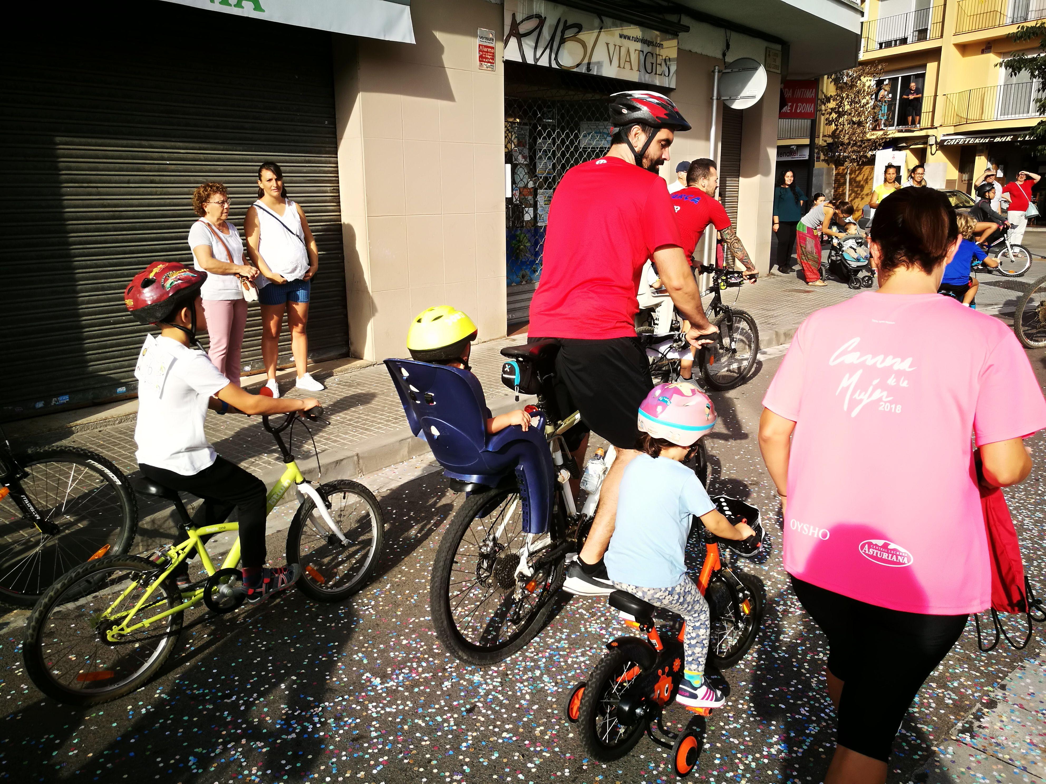 Bicicletada popular de Rubí 2019