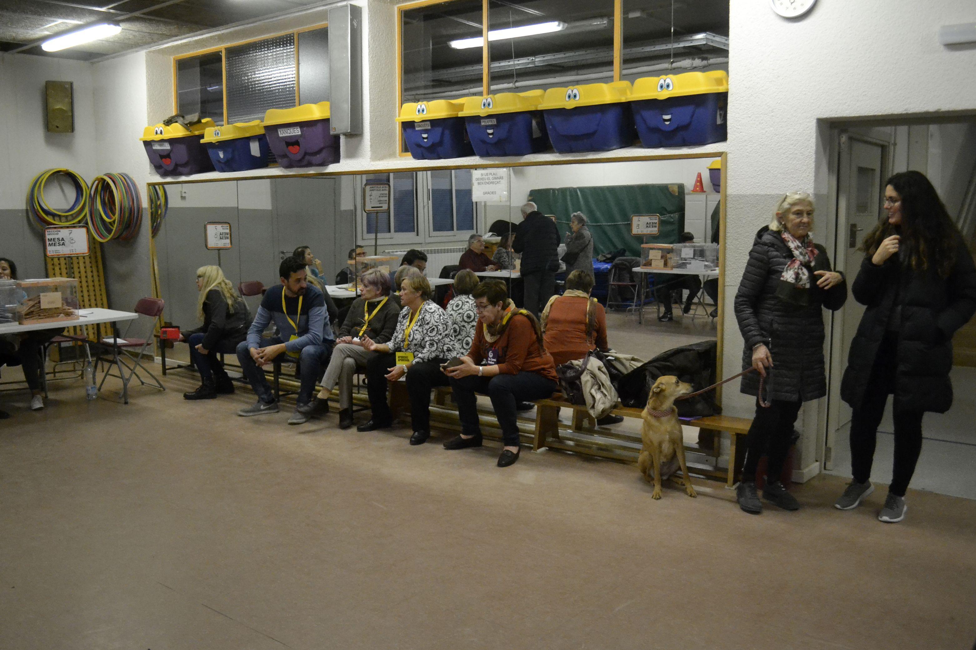 Eleccions generals Rubí 10-N. FOTO: Marcel Marsal