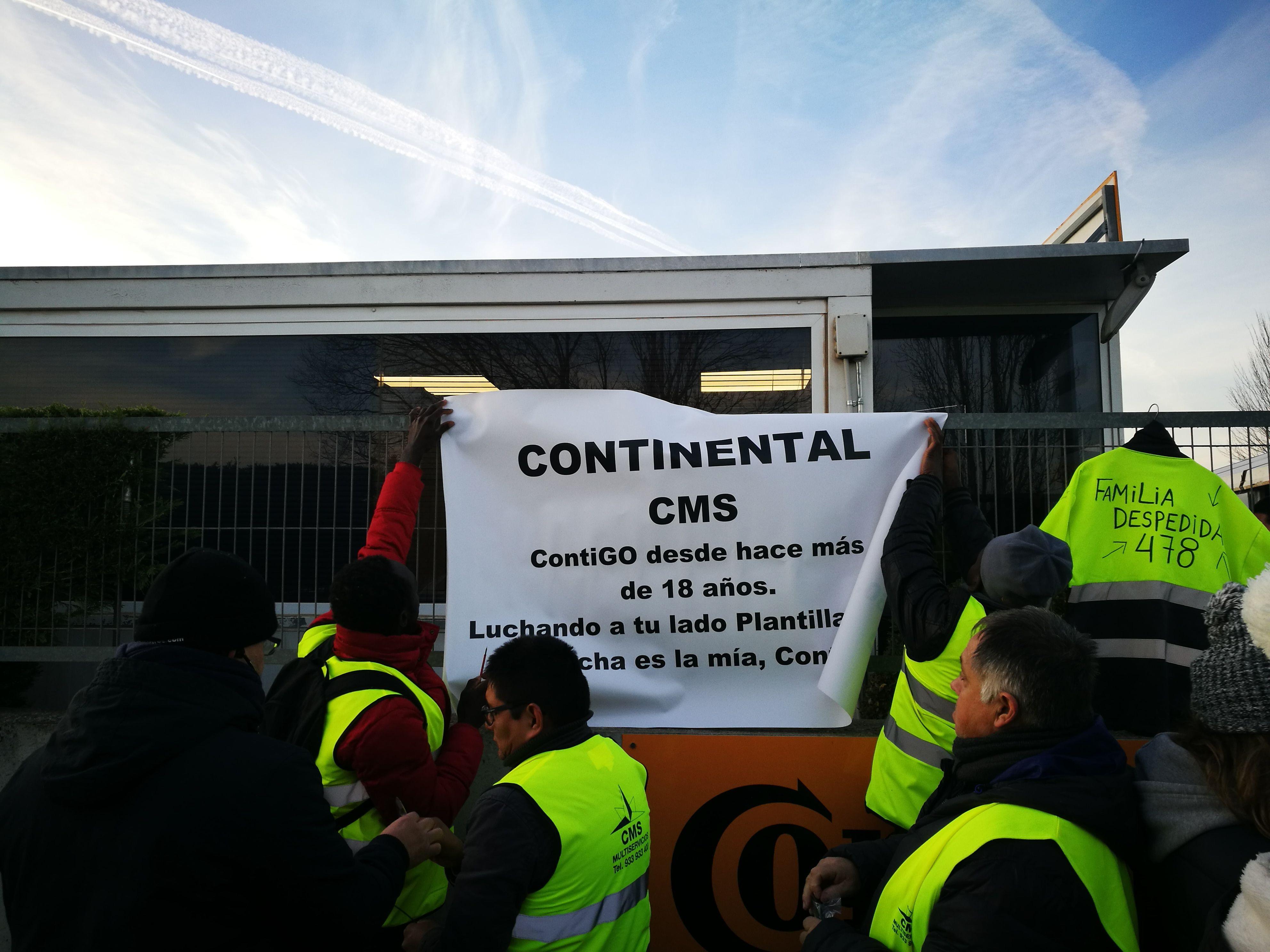 Vaga de la de plantilla Continental  15/01/2019