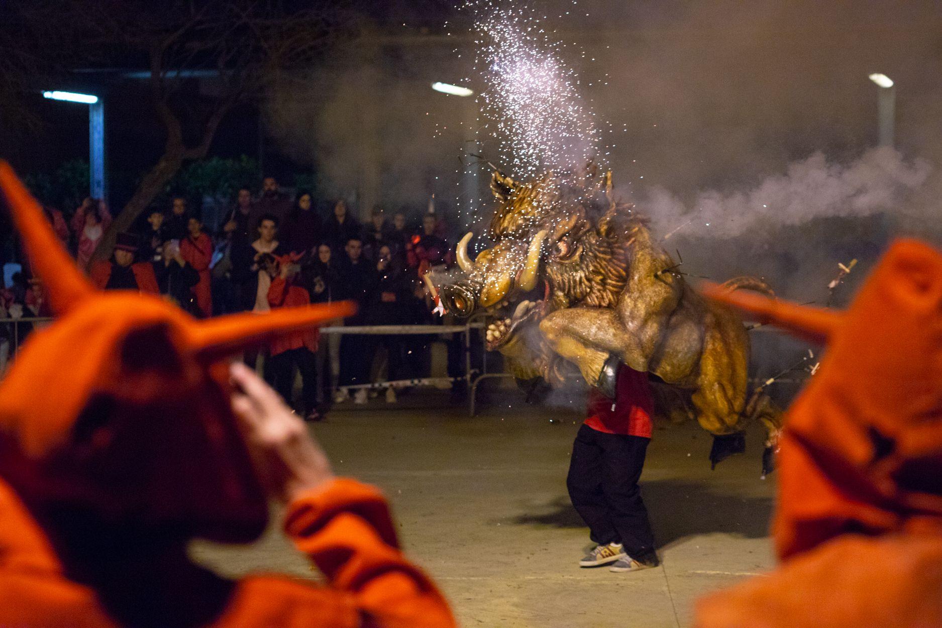 Diables de Rubí. Carnaval 2020