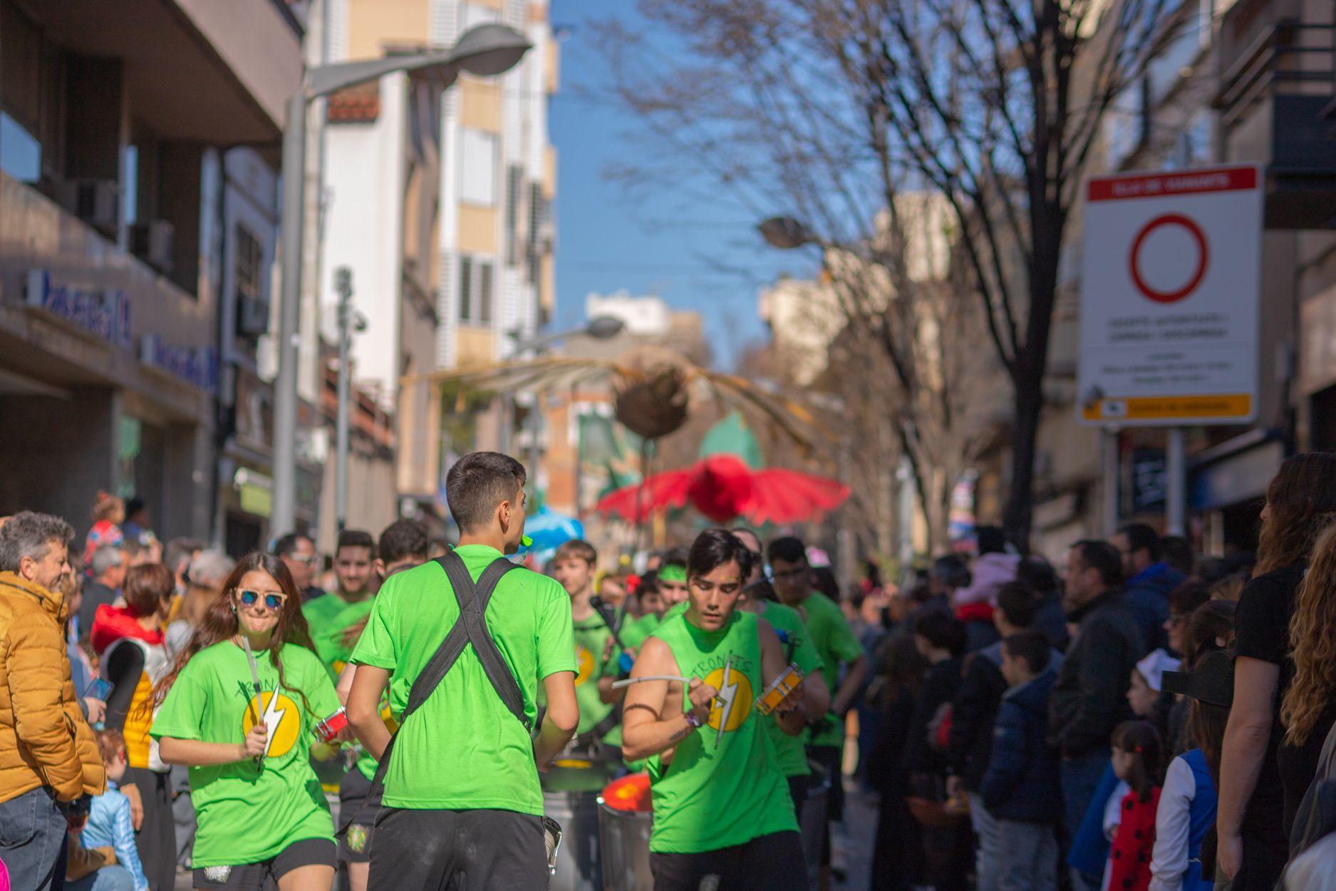Rua infantil a Rubí. Carnaval 2020