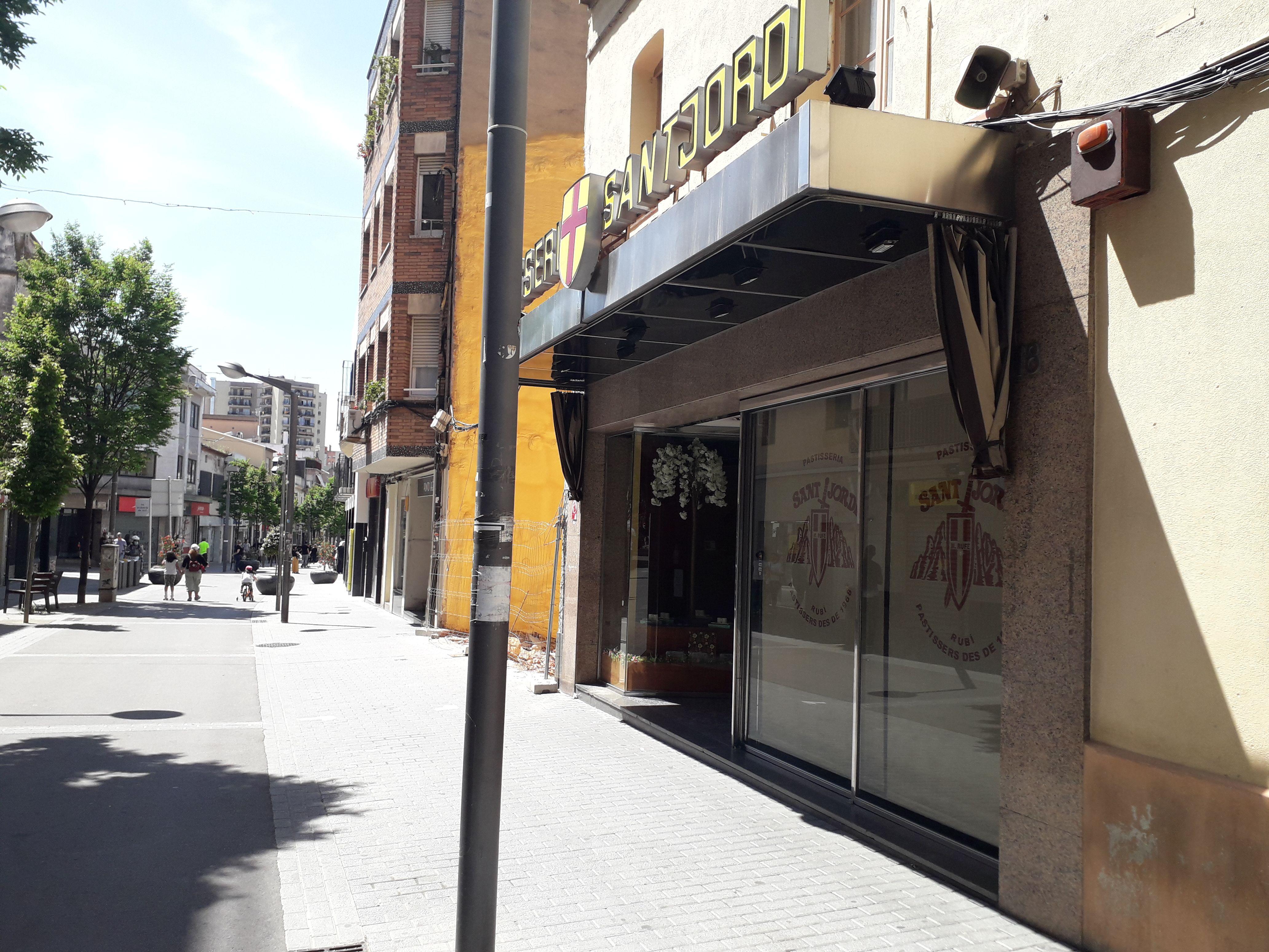 Pastiseria Sant Jordi. FONT: Núria HS