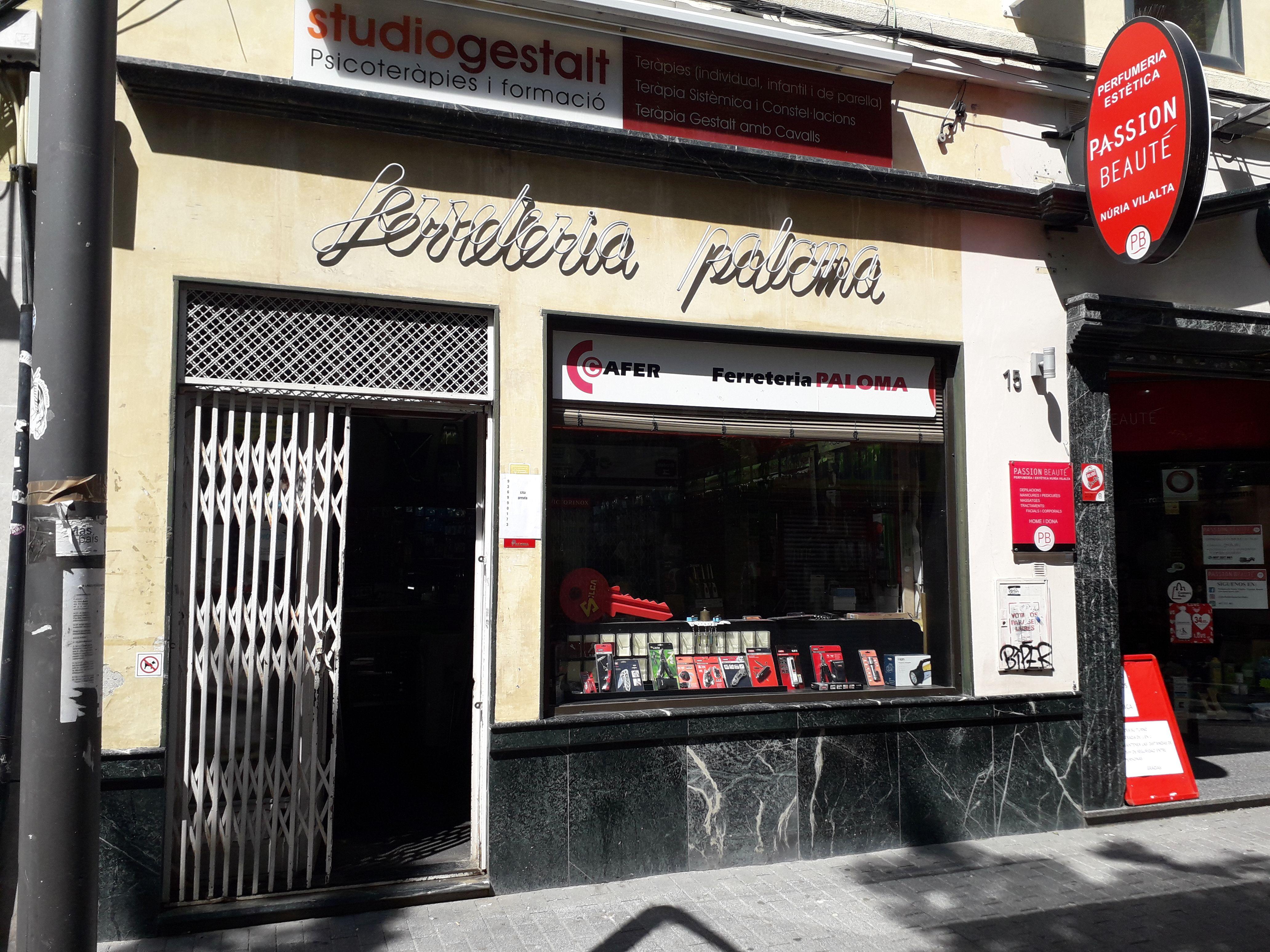 Ferreteria Paloma. FONT: Núria HS