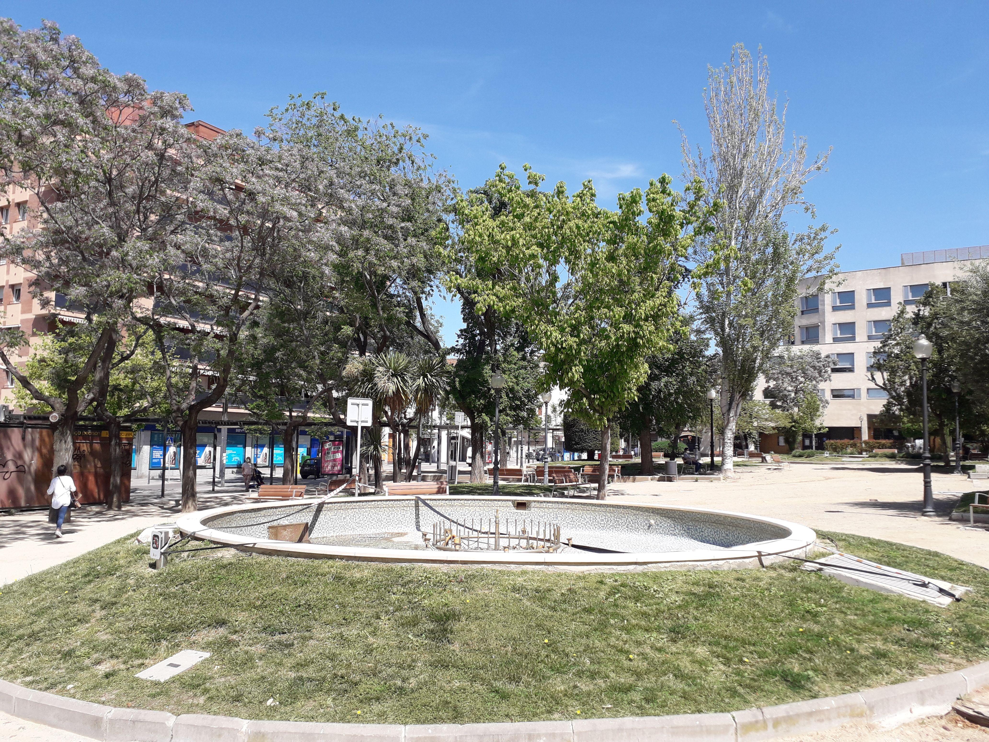 Plaça Pearson. FONT: Núria HS