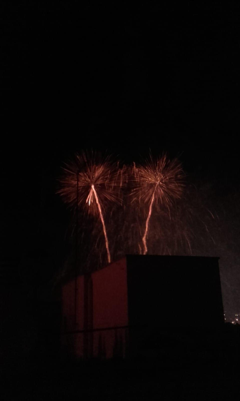 Castells de foc. FOTO: Cedida