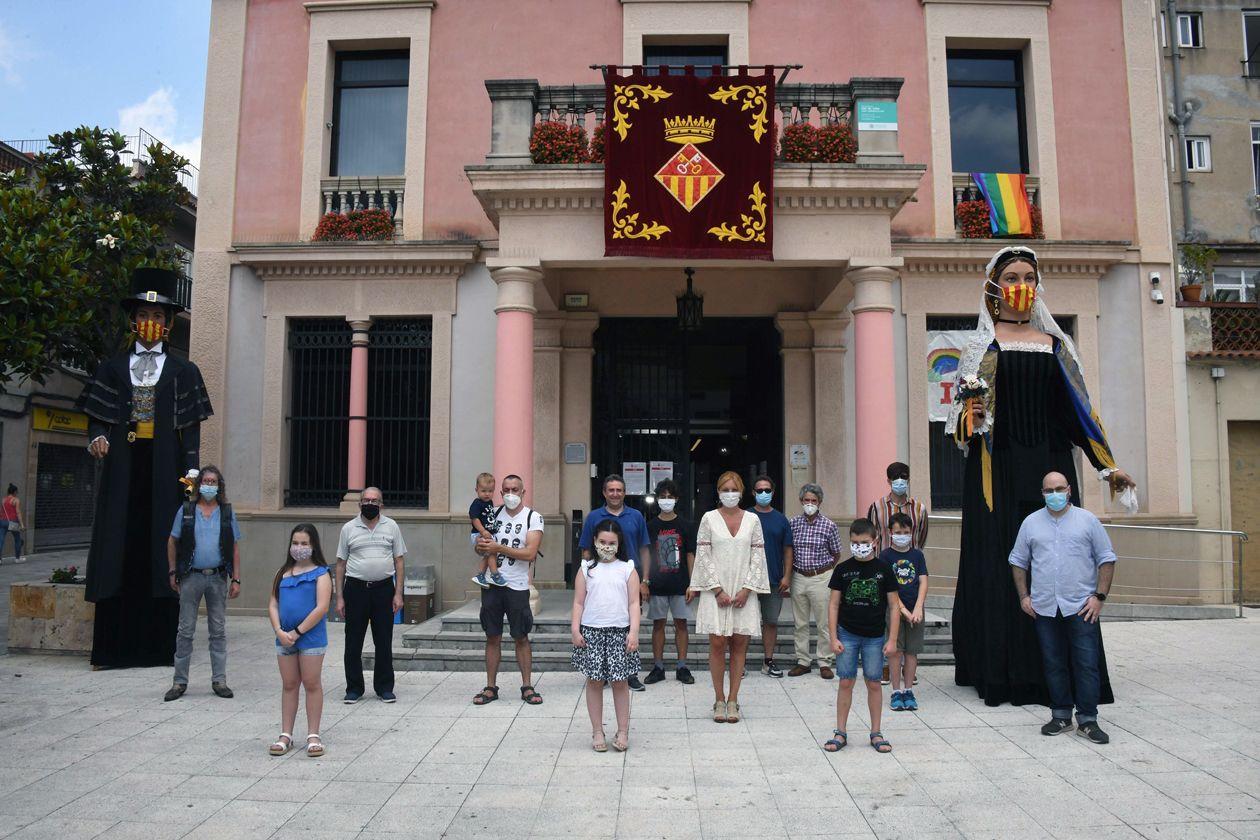 Tradicional trobada de Peres, Petres, Paus i Paules. FOTO: Ajuntament de Rubí-Localpres