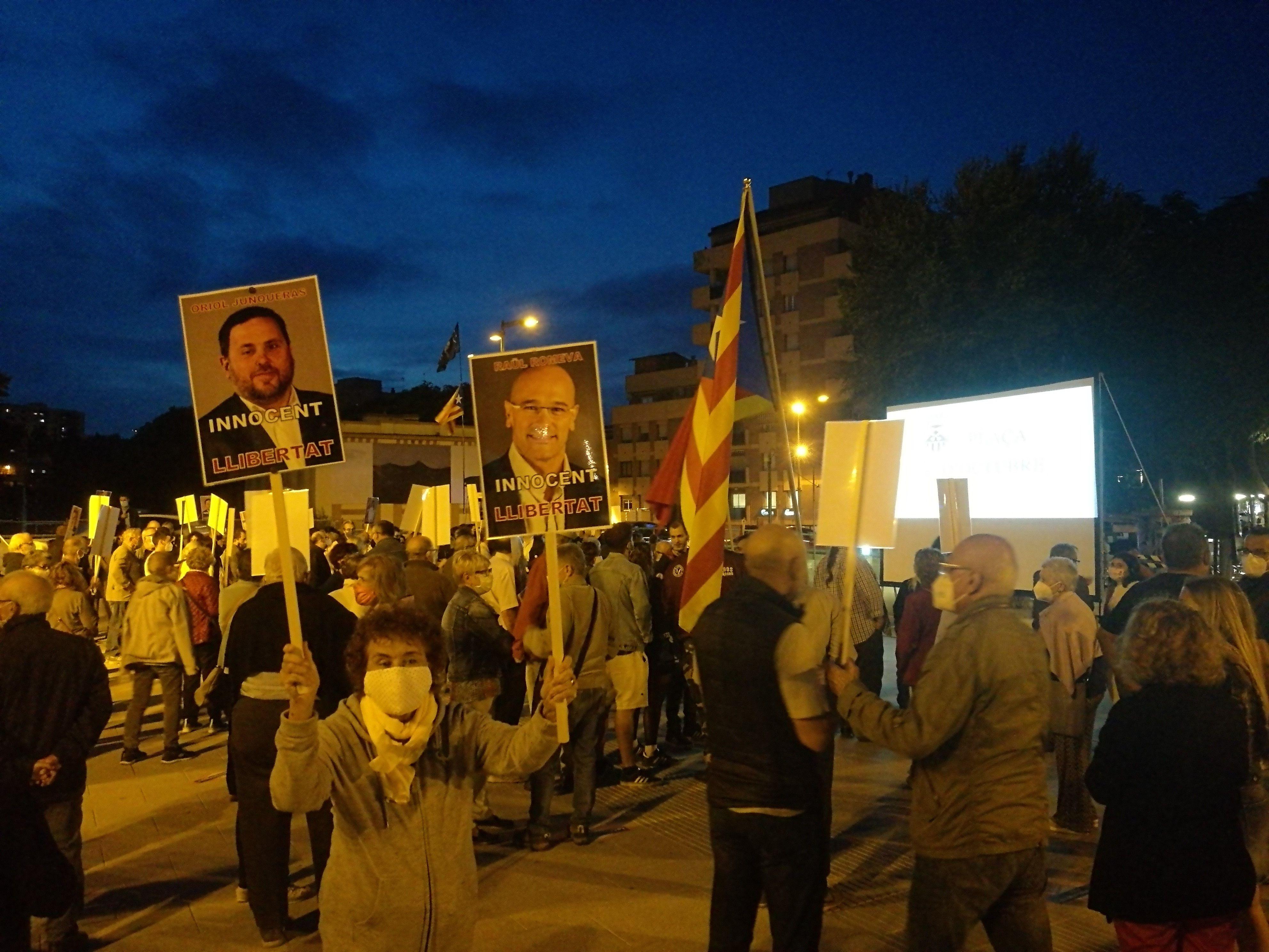 Manifestació 1 octubre de 2020. FONT: Redacció