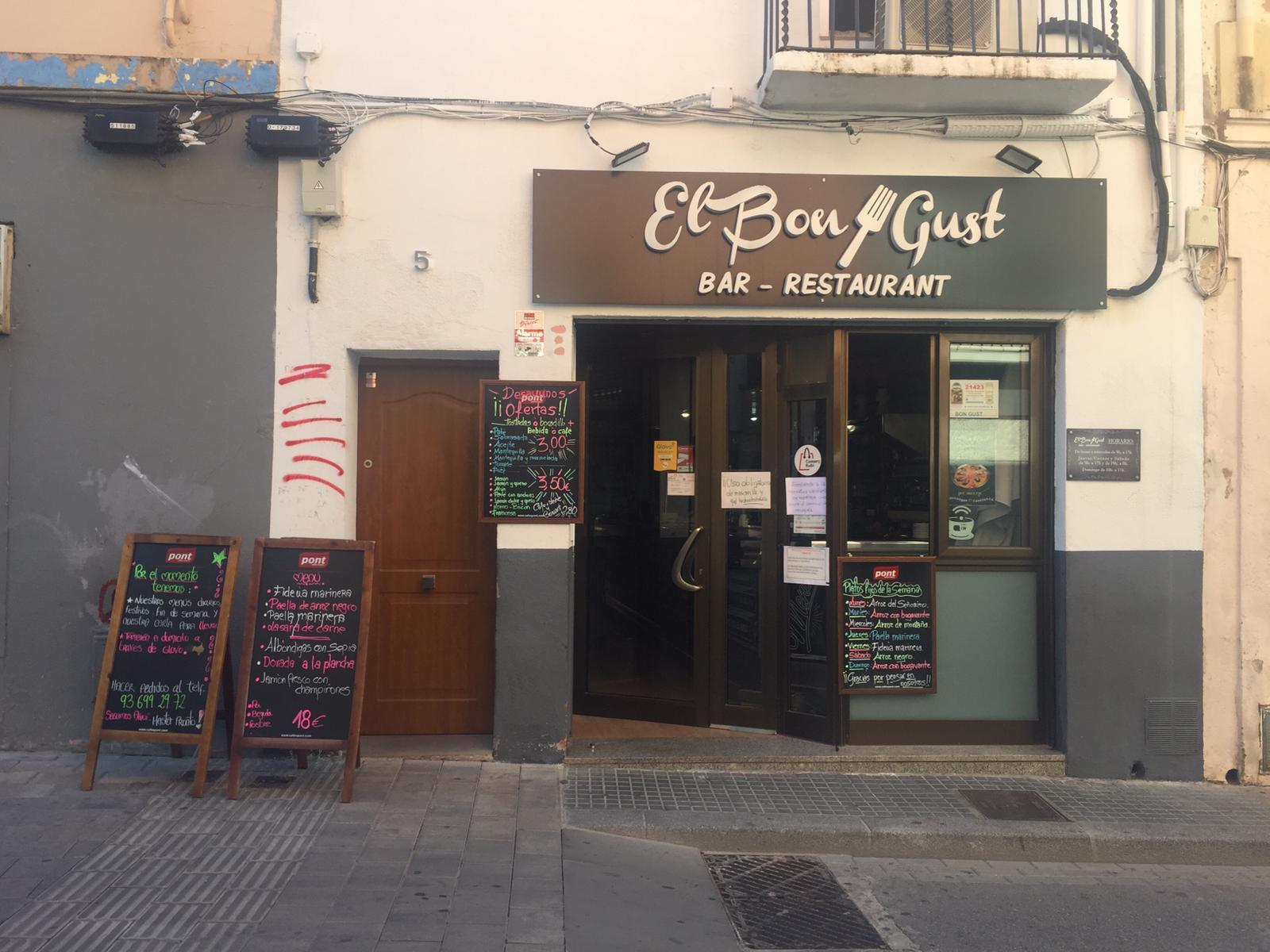 Bars i restaurants tancats després de l'aprovació de les noves restriccions. FOTO: Andrea Martínez
