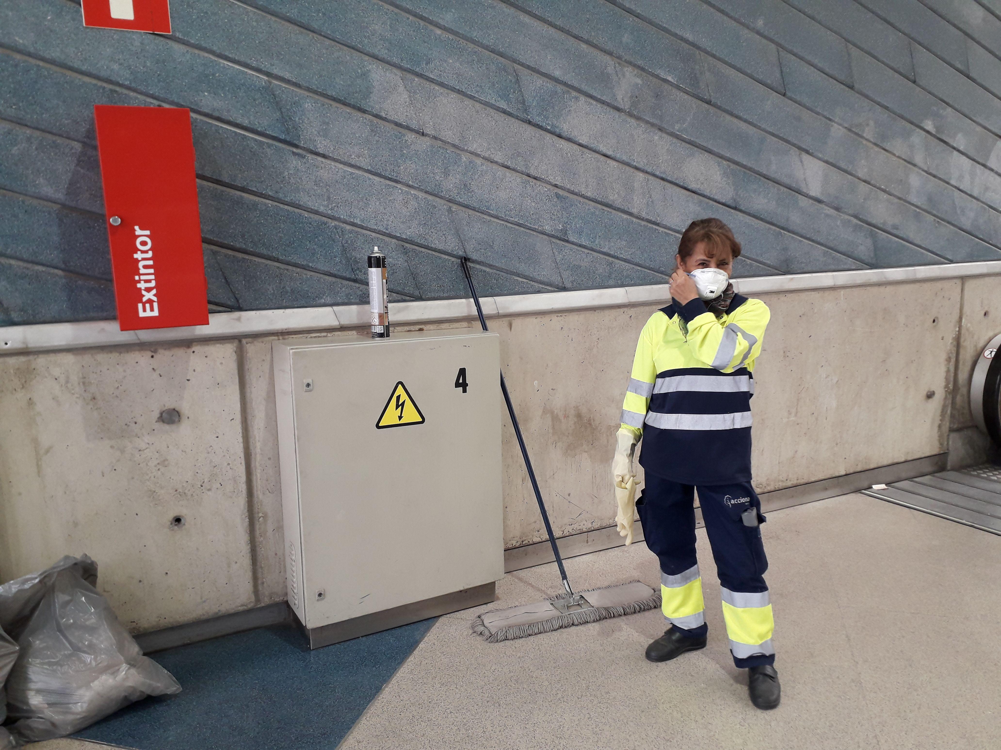L'estat d'alarma només permetia anar a la feina als treballadors de serveis essencials. FOTO: Redacció