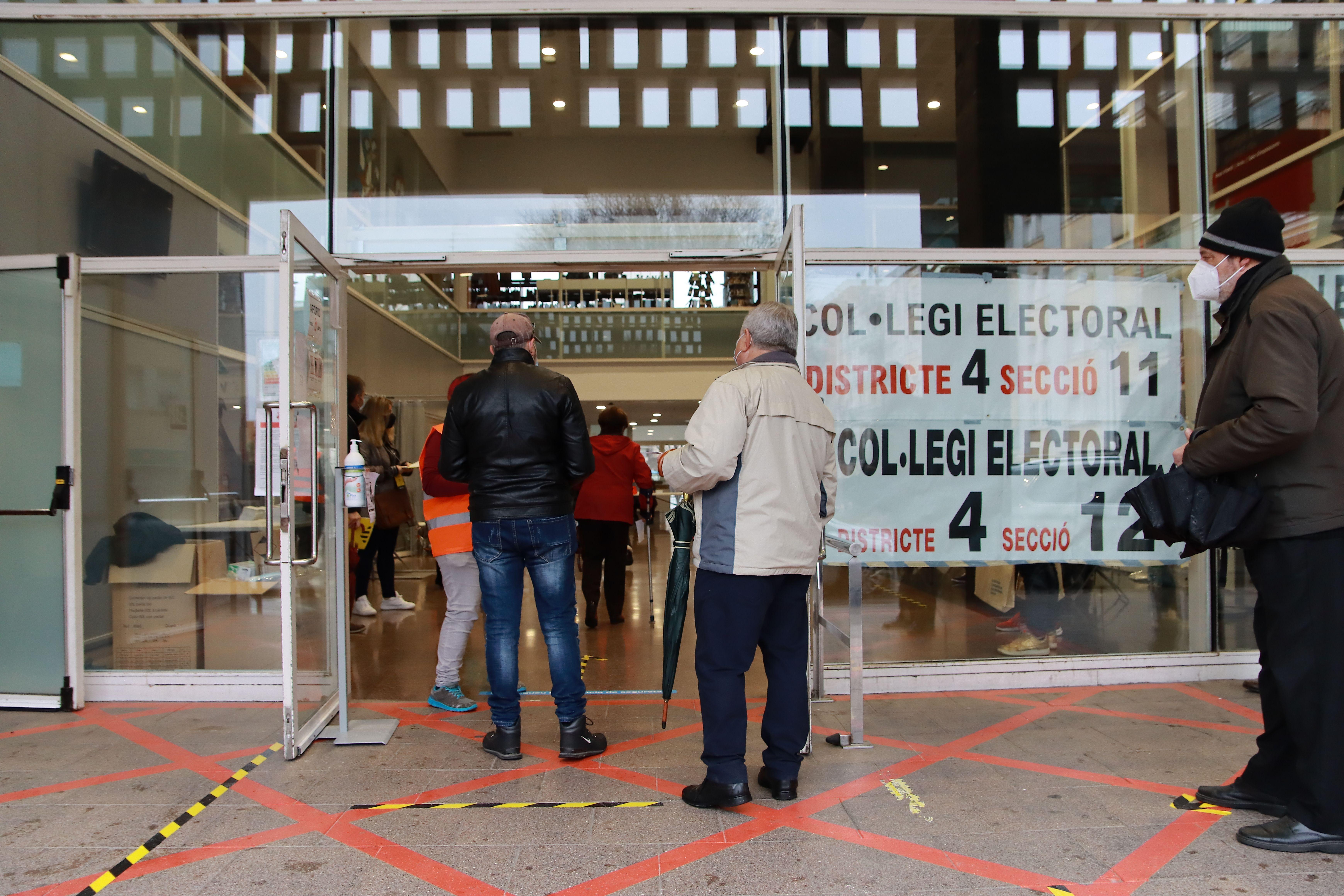 El PSC ha estat la força més votada a Rubí en les eleccions al Parlament del 14 de febrer. FOTO: Josep Llamas