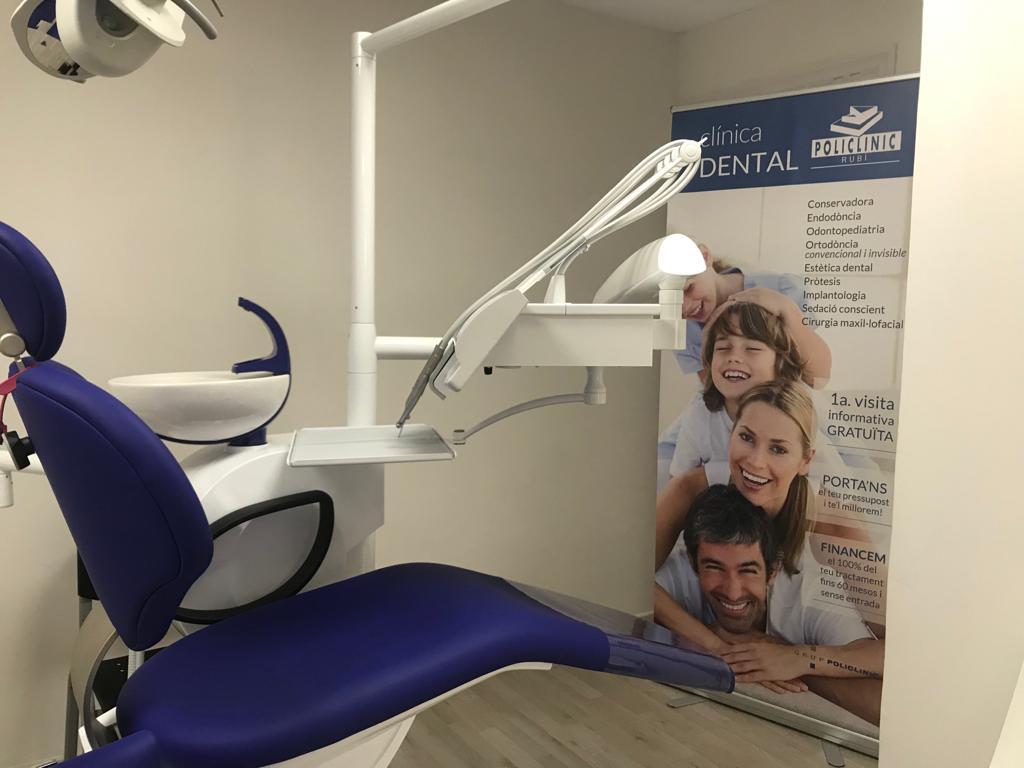 Box clínica dental Policlínic Rubí. FOTO: Cedida