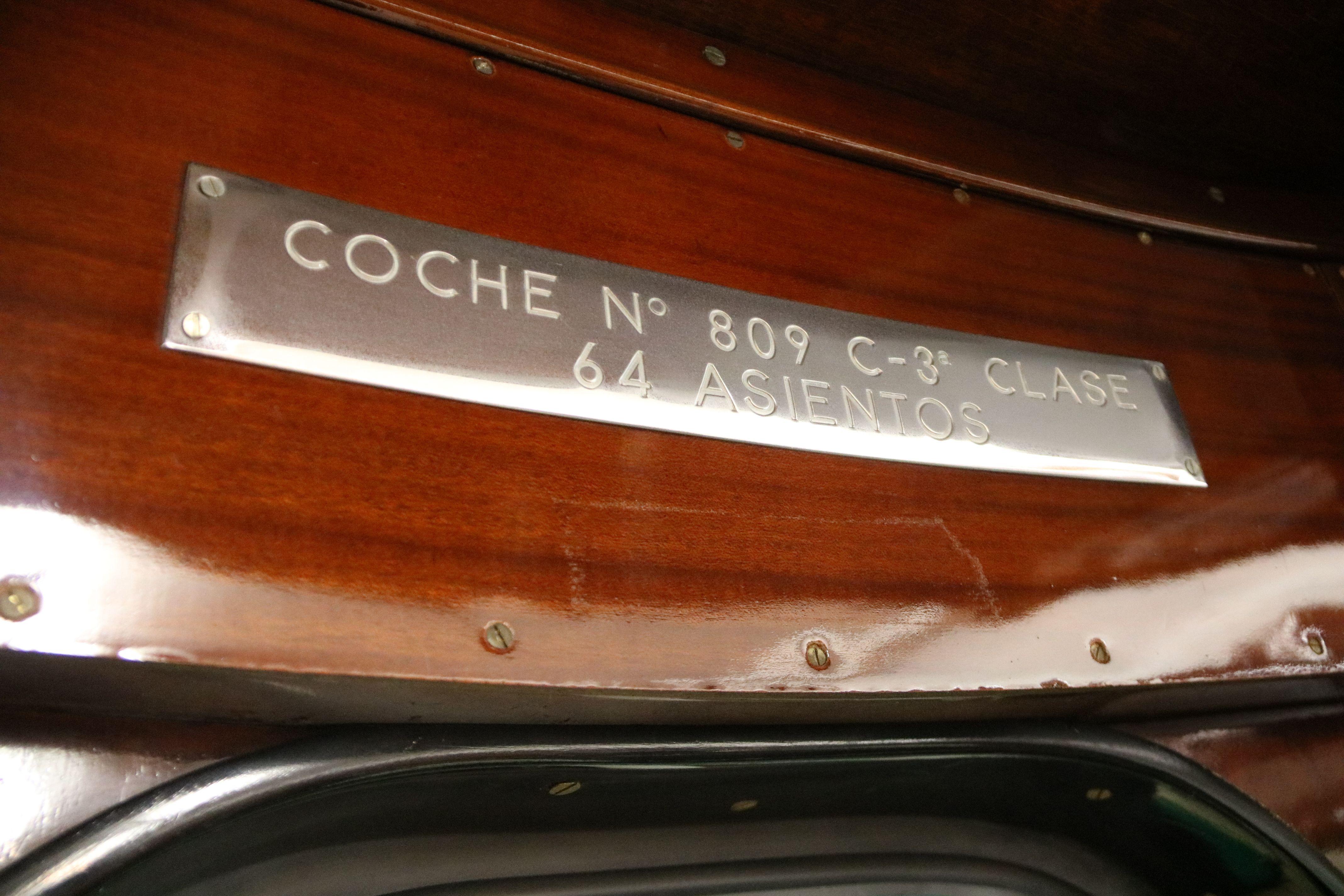 L'interior d'un vagó de tercera classe. FOTO: Albert Segura/ACN