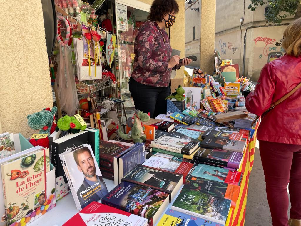 Gràfiques Ventura Sant Jordi 2021. FOTO: N. Hueso