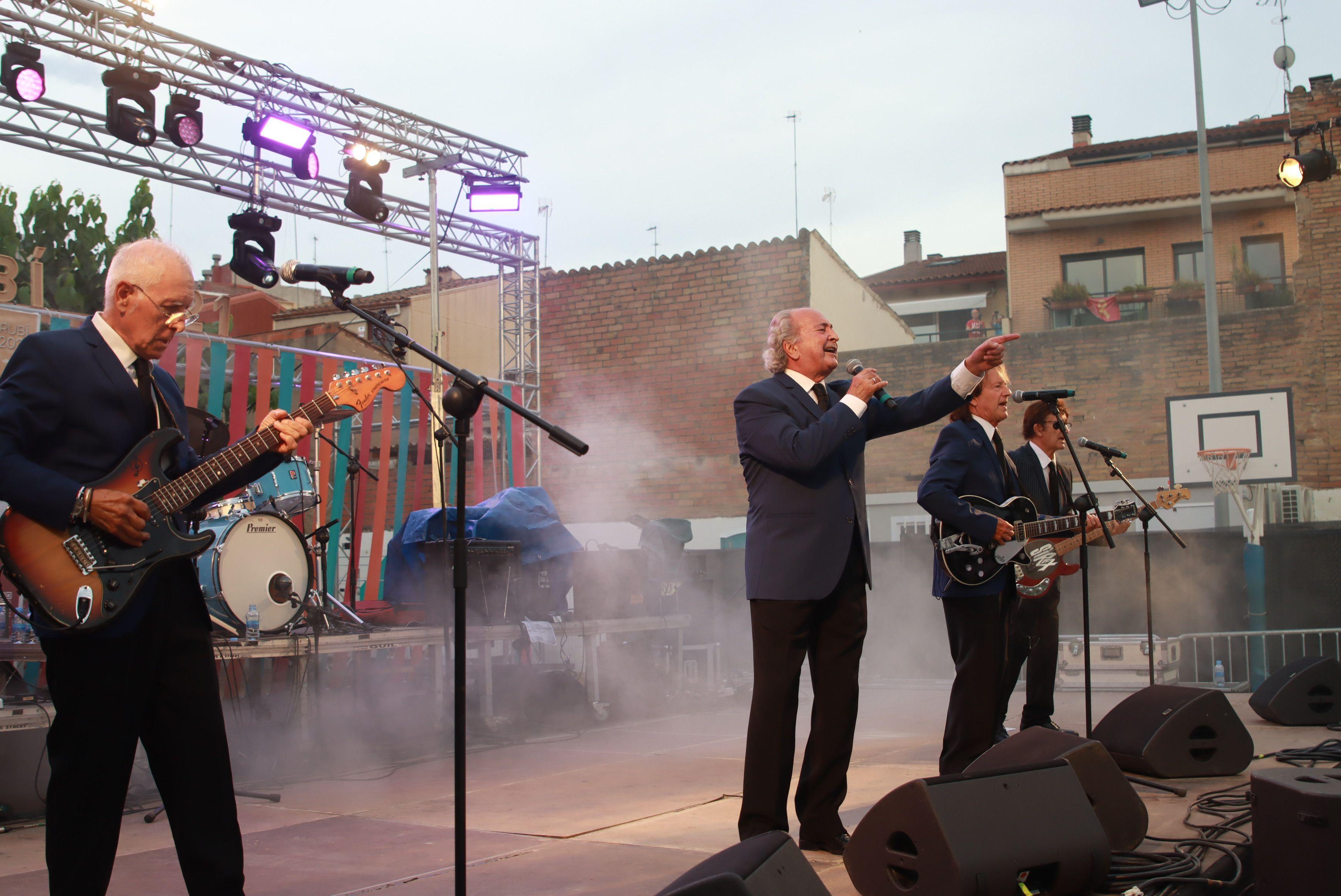 Concert de Los Sirex per Festa Major a Rubí. FOTO: Josep Llamas