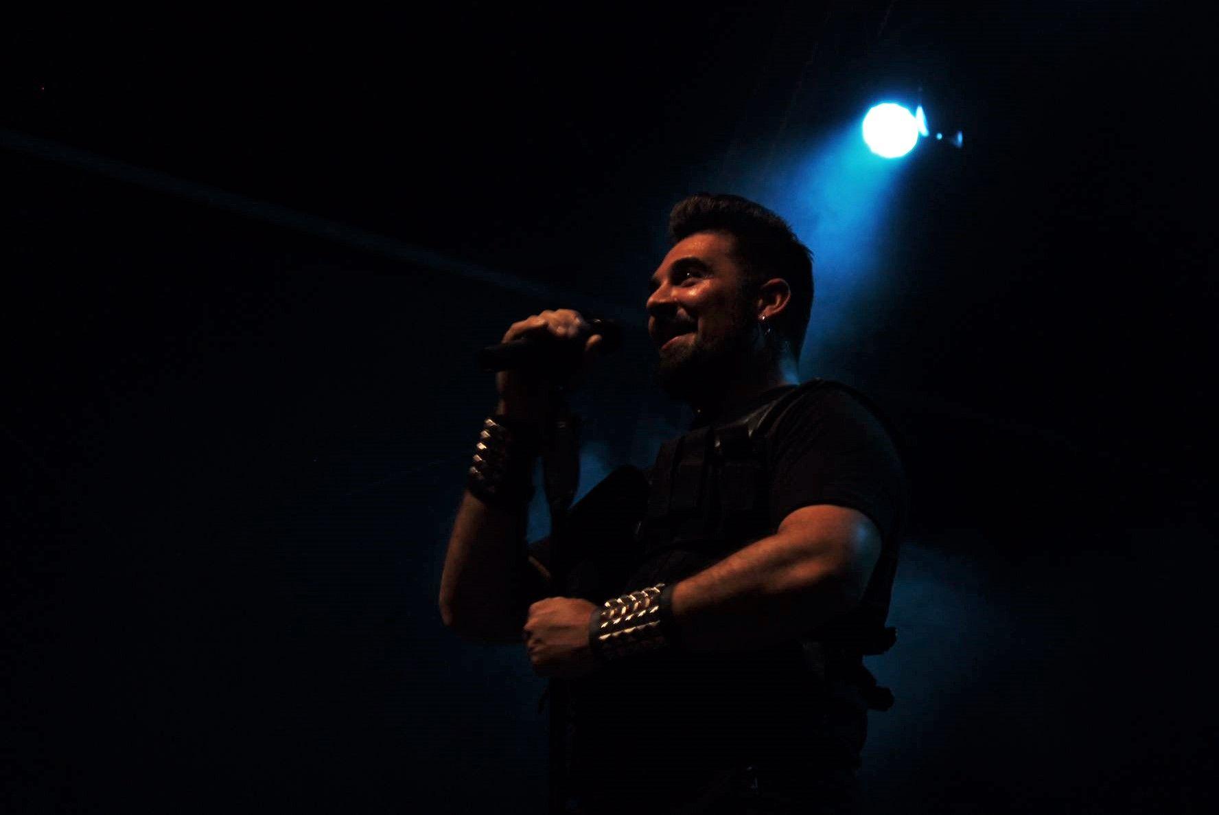 Actuació musical dels Versión Imposible. FOTO: Andrea Martínez