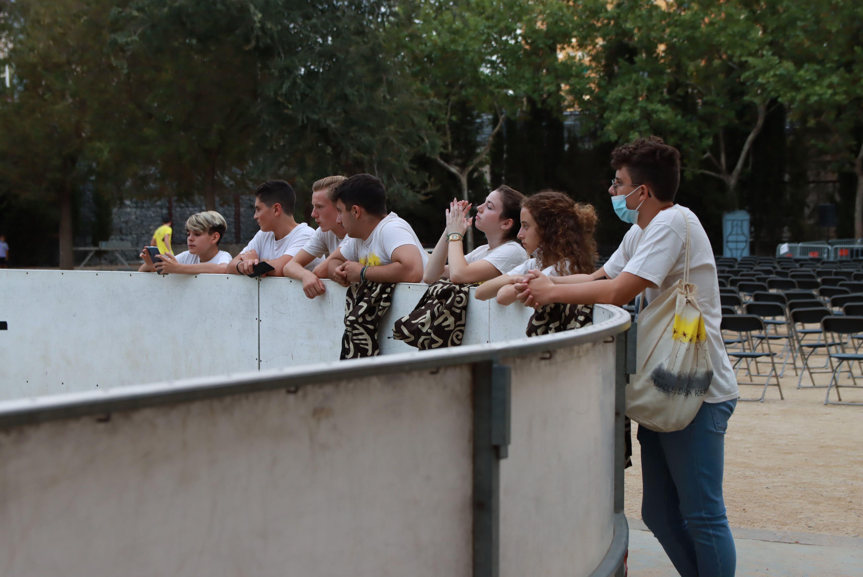 Tabalada a càrrec dels grups de percussió Explosió Rítmica i Tronats. FOTO: Josep Llamas