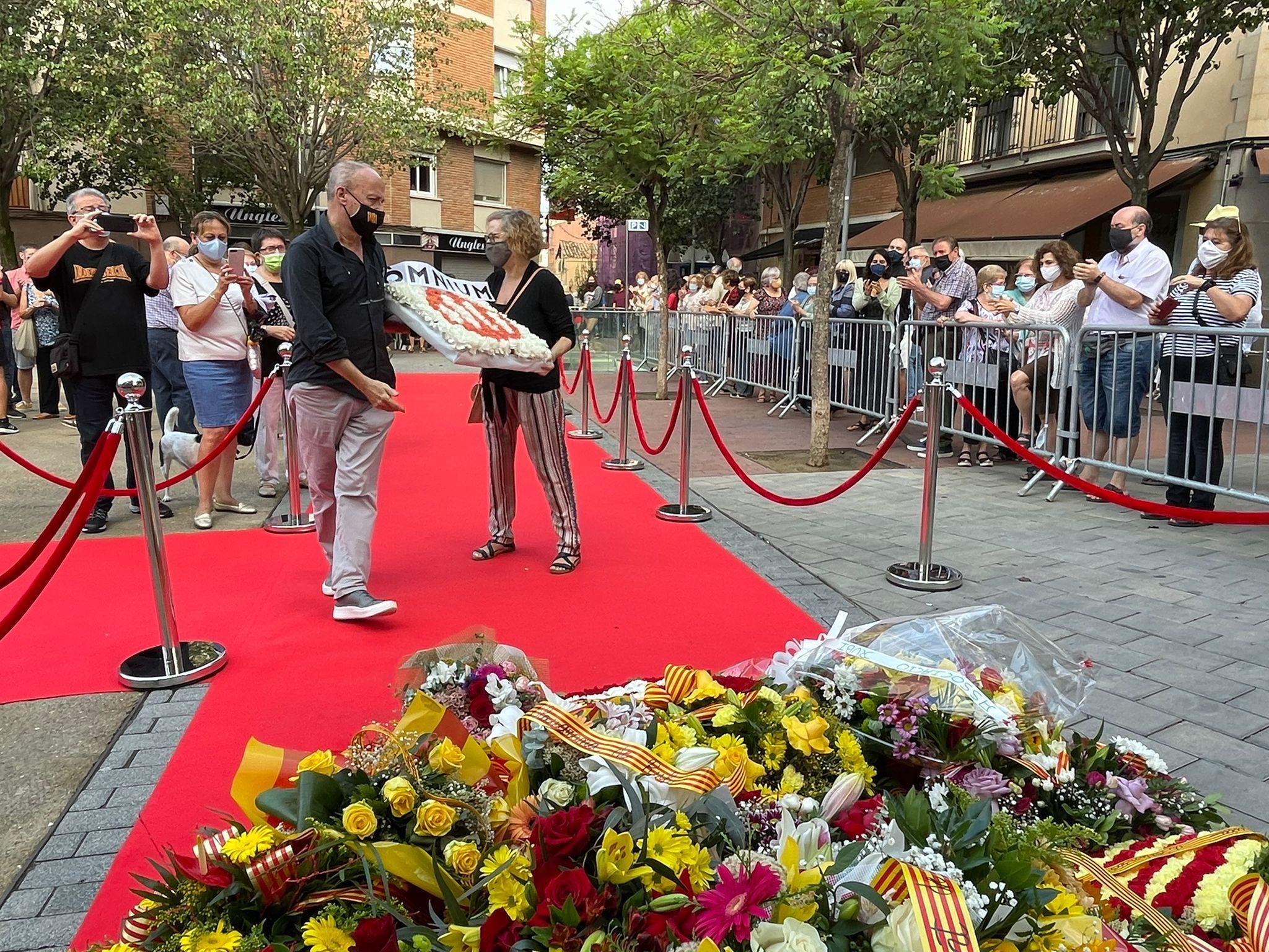 Rubí commemora la Diada de Catalunya. FOTO: Andrea Martínez